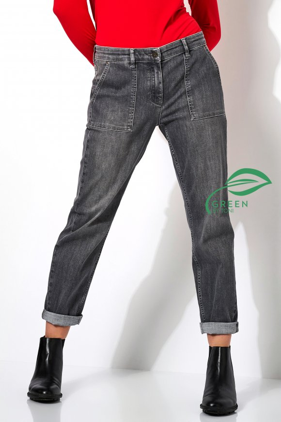Jeans »Liv« grey used