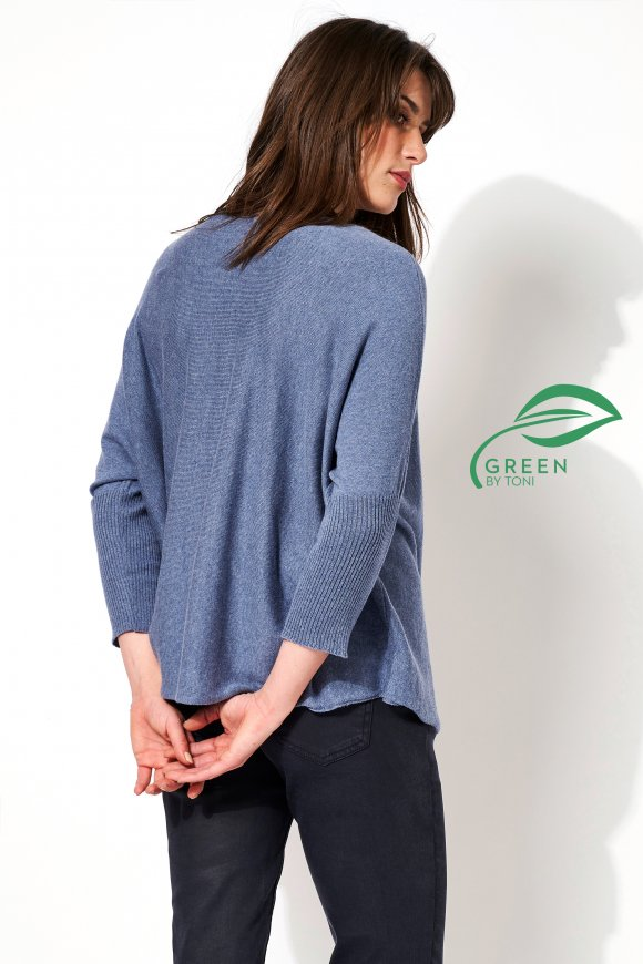 Pullover »Gina« dusty blue